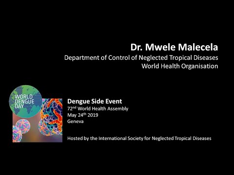 Dr. Mwele Malecela (World Health Organisation): The Threat Of Dengue & WHO's Approach