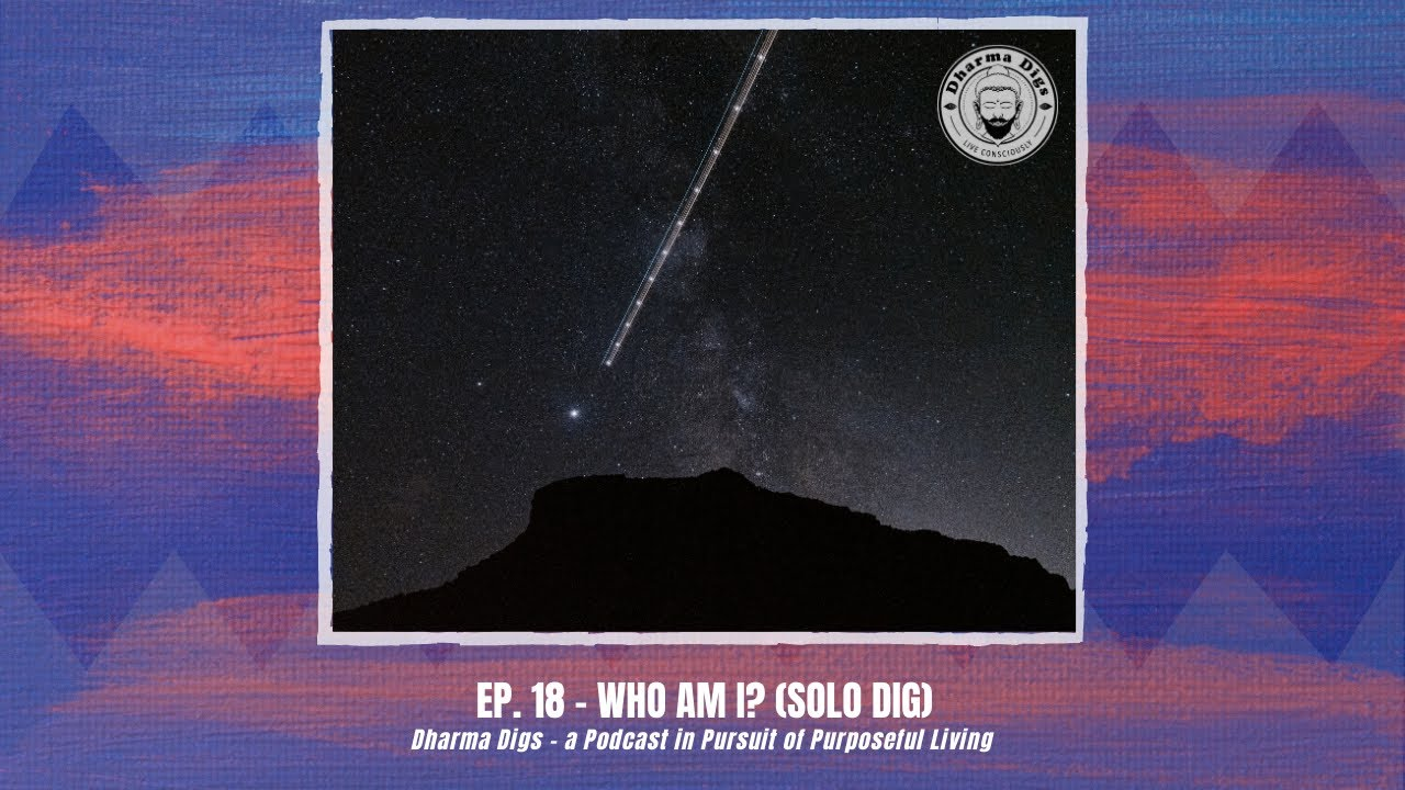 Ep. 18 - Who Am I? (solo dig) - Dharma Digs Podcast