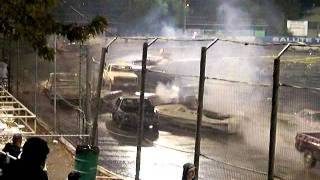 Lakeport speedway boat race  10-29-11 part 1