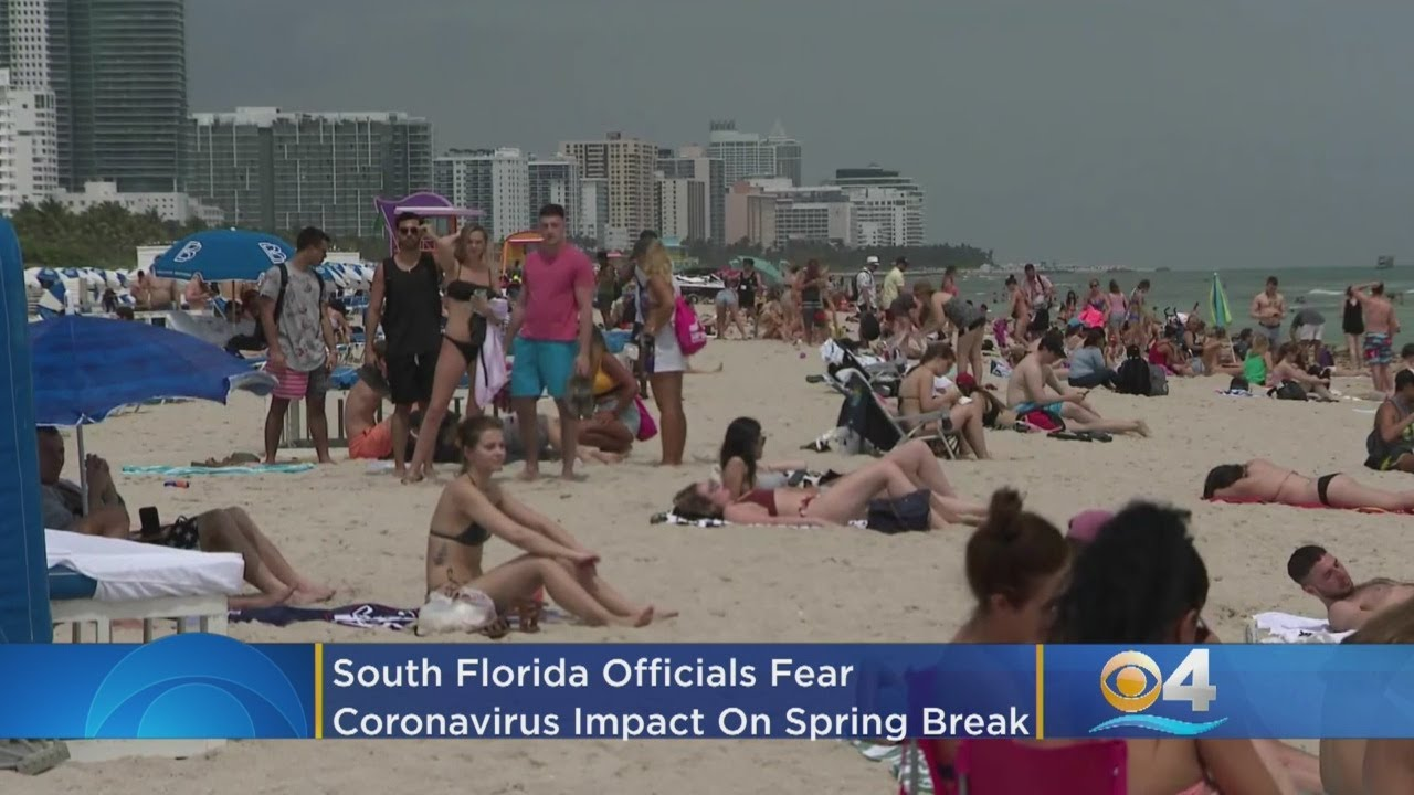 Disease experts respond to crowded Florida beaches during ...