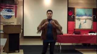 WAO Toastmasters Meeting - 1st Half - January 25, 2014