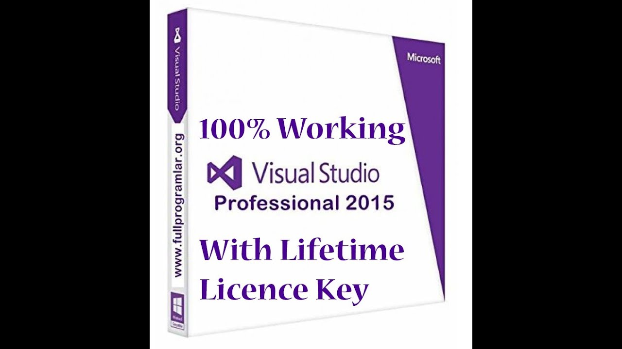 visual studio 2015 free download full version with crack