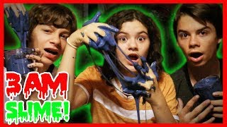DO NOT MAKE FLUFFY SLIME AT 3AM IN A HAUNTED HOTEL!