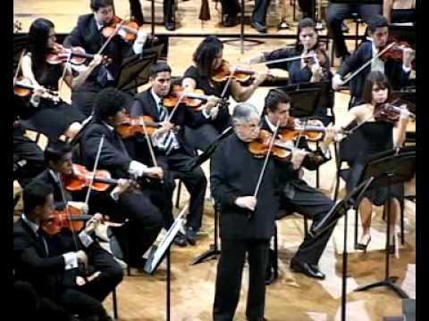 Beethoven: Violin Concerto - I mov. part II / Maurice Hasson · Orquesta Sinfónica Juvenil de Caracas