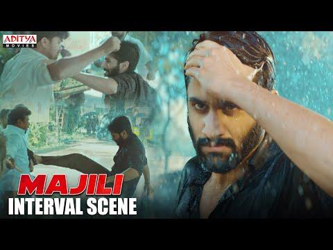 Majili Interval Fight Scene | Majili Hindi Dubbed New Movie | NagaChaitanya, Samantha