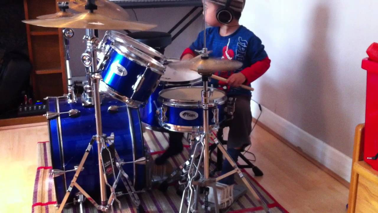 Narda by Kamikazee Drum Cover, 3 Year Old Drummer : Doovi