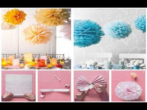 Baby Shower Decoration Ideas Diy Youtube