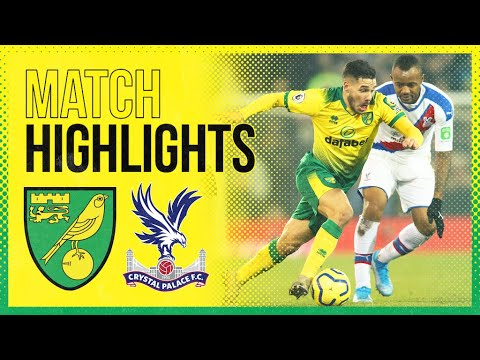 HIGHLIGHTS | Norwich City 1-1 Crystal Palace | Todd Cantwell Scores His 6th Premier League Goal!