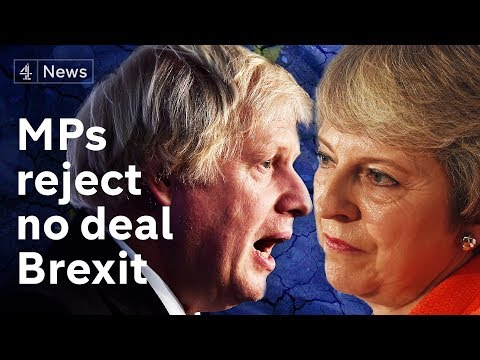 MPs vote to reject no-deal Brexit by majority of 4  - now what?|#BREXIT