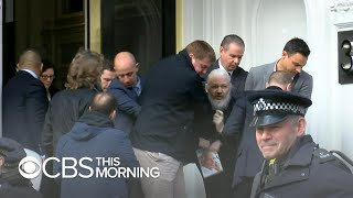 Julian Assange, WikiLeaks founder, arrested in London