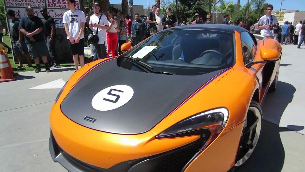 McLaren 650S Can-Am Spider (1 of 50 built) - YouTube