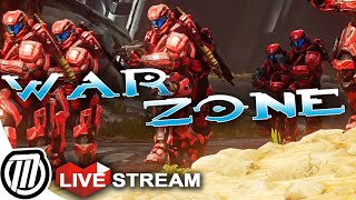 Halo 5 Warzone - Gameplay Multiplayer: RED vs BLUE!! Live Stream (Xbox One 1080p)