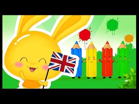 Apprendre les couleurs en anglais - Comptines et chansons - Titounis English