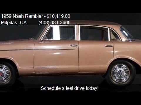 1959 Nash Rambler  for sale in Milpitas, CA 95035 at NBS Aut