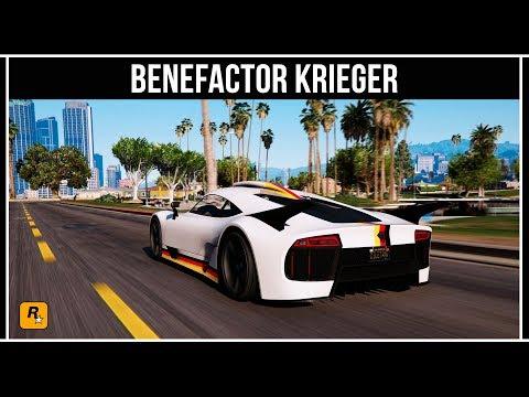 GTA Online: Обзор нового суперкара Benefactor Krieger