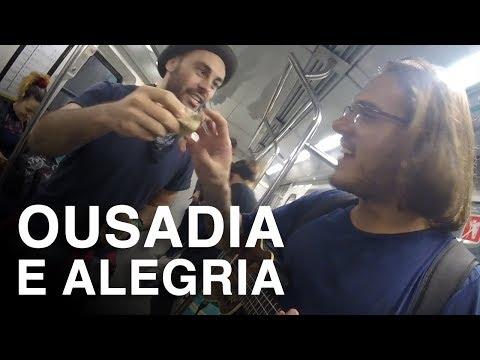 Como GANHAR dinheiro no METRÔ de BUENOS AIRES | Artista de rua na ARGENTINA