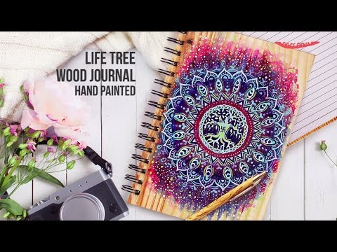 Life Tree Wood Journal- A perfect diary for you