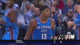 VIDEO - Thunder tops Rockets, wins 7th straight game