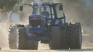 Ford TW-15 & TW-25 Going Hard Trying To Pull The Big Sledge to The End | Tractor Pulling Denmark