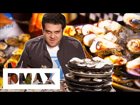 Will Adam Be Able To Eat 180 OYSTERS? | Man V. Food