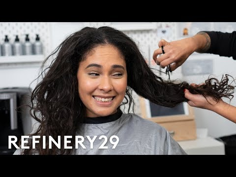 I Chopped Off 10 Inches Of My Natural Curls | Hair Me Out | Refinery29