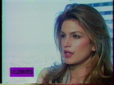 Supermodel Cindy Crawford exclusive interview on French TV in 1997........ Music by LOLLITA