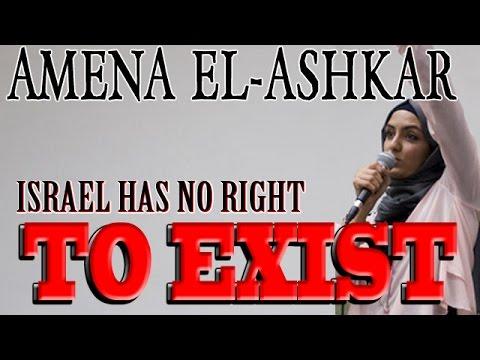 SFi031 - Amena El Ashkar - israel Has No Right To EXIST!