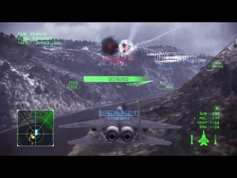 Avalon | Mission 6 | Ace Combat Infinity [1080p 60fps]