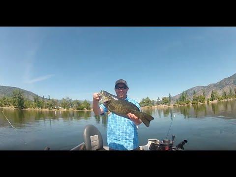 Osoyoos Spring Smallmouth Bass Fishing