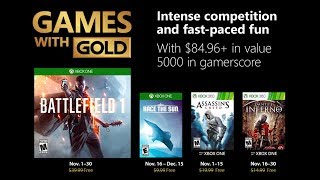 Xbox Games With Gold November 2018 Update - Pretty Good Month?