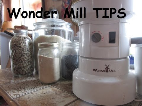 Wonder Mill Grinder: Why You Need One! Gluten Free & Nutritional Flours For Pennies!