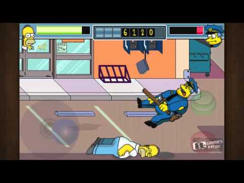 The Simpsons Arcade - IPhone Game