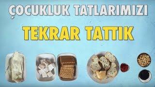 Çocukluk Tatlarımızı Tekrar Tattık - Salçalı Ekmek, Bisküvi + Lokum
