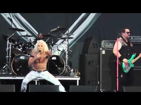 Twisted Sister - I Wanna Rock - Donington June 14