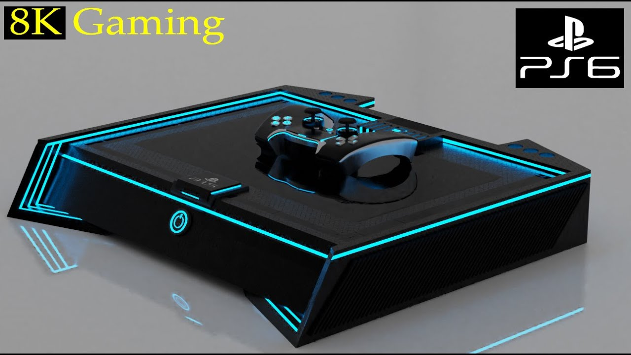 Playstation 7 Trailer - 3D Concept