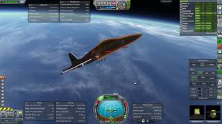 Kerbal Space Program RO Sandbox - T-38 Space Shuttle 1961 Final