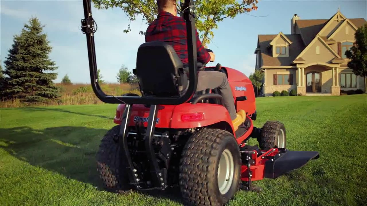 Simplicity Legacy Xl Subcompact Garden Tractor