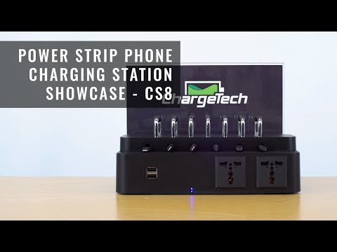 Power Strip Phone Charging Station   ChargeTech Showcase