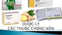 [Pharmog SS1 - Tập 02] - Dược lý các thuốc chống nôn