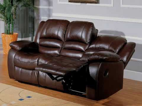 deluxe recliner sofa ashlyn leather reclining sofa collection youtube