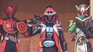 【仮面ライダーゴースト】キャラクターショー「W/ダブル&オーズ登場」 Kamen Rider Ghost & Kamen Rider Double & Kamen Rider OOO
