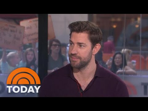 John Krasinski Opens Up About 'Jack Ryan' And His 'Office' Family  TODAY