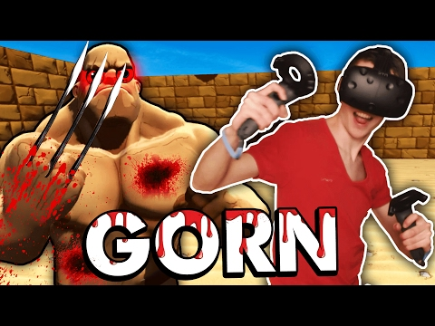THE BEST GLADIATOR ARENA IN VIRTUAL REALITY! (Gorn VR - HTC Vive Gameplay)
