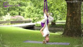 Aerial Yoga mit Franziska Reuß (www.yoga-lila.de) aus Schwerin