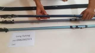 Cần Câu Máy Xa Bờ Superpro Axt_ Long Fishing_ 3m6 Giá 610k- 3m9 Giá 640k - 4m2 G