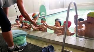 Аквафитнес для детей в фитнес-клубе Малибу