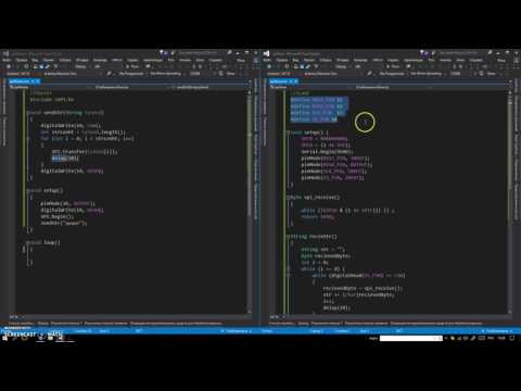 Arduino+Arduino - SPI  реализация общения между 2 ардуинами по SPI