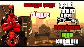 GTA San Andreas Deadpool Mod (Kurulum+Oynanış)