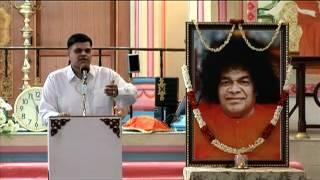 Talk by Sri Vinay Kumar, Youth Coordinator, Sri Sathya Sai Organisation, Karnataka :))