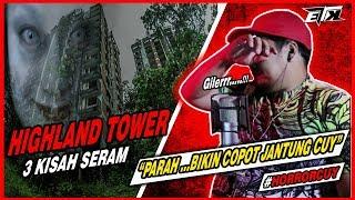 2 KALI TERKEJUT cuyy 😠..!!! 3 Kisah Seram  Highland Tower  | REACTION
